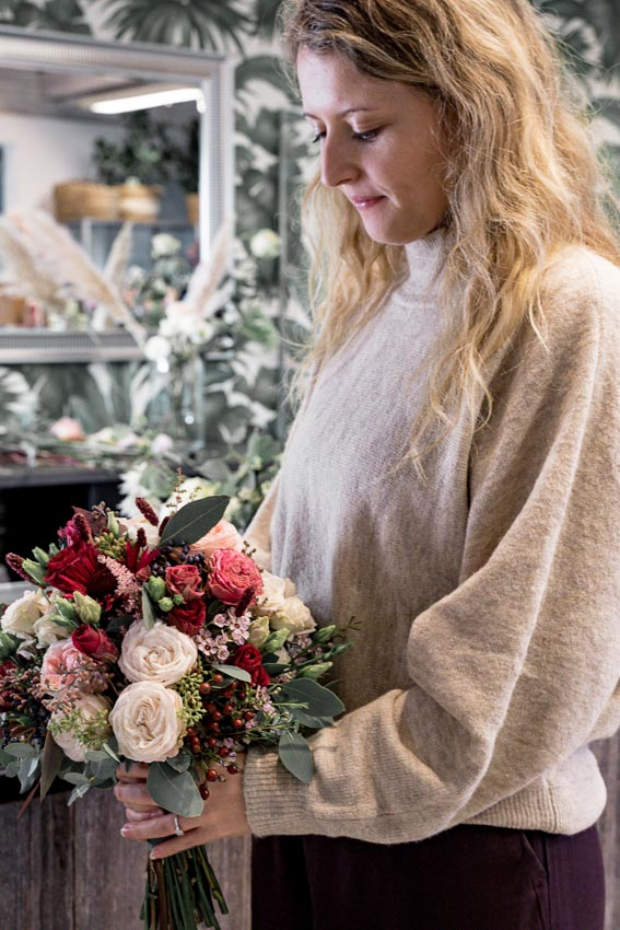 Brautstrauß Form