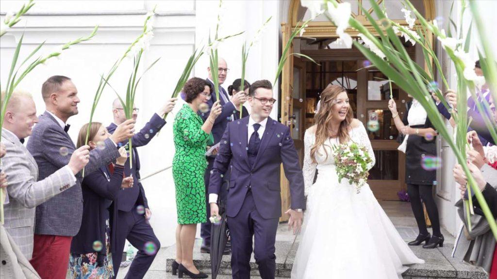 Gäste zur Hochzeit