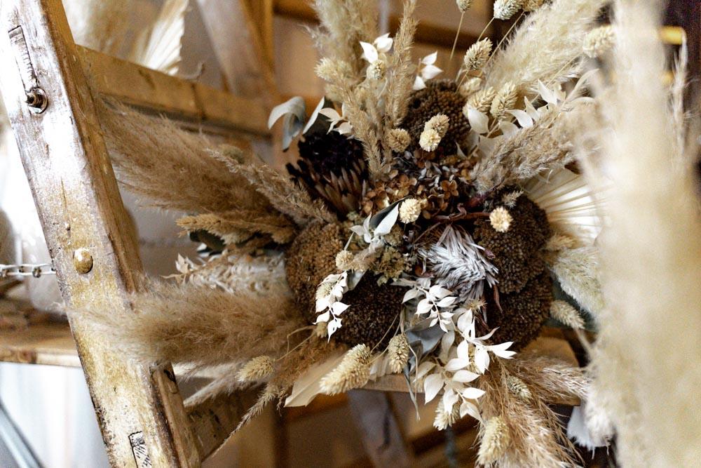 Hochzeitsdekoration Blumen Detail