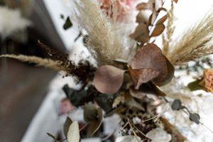 Deko Denk Trockenblumen
