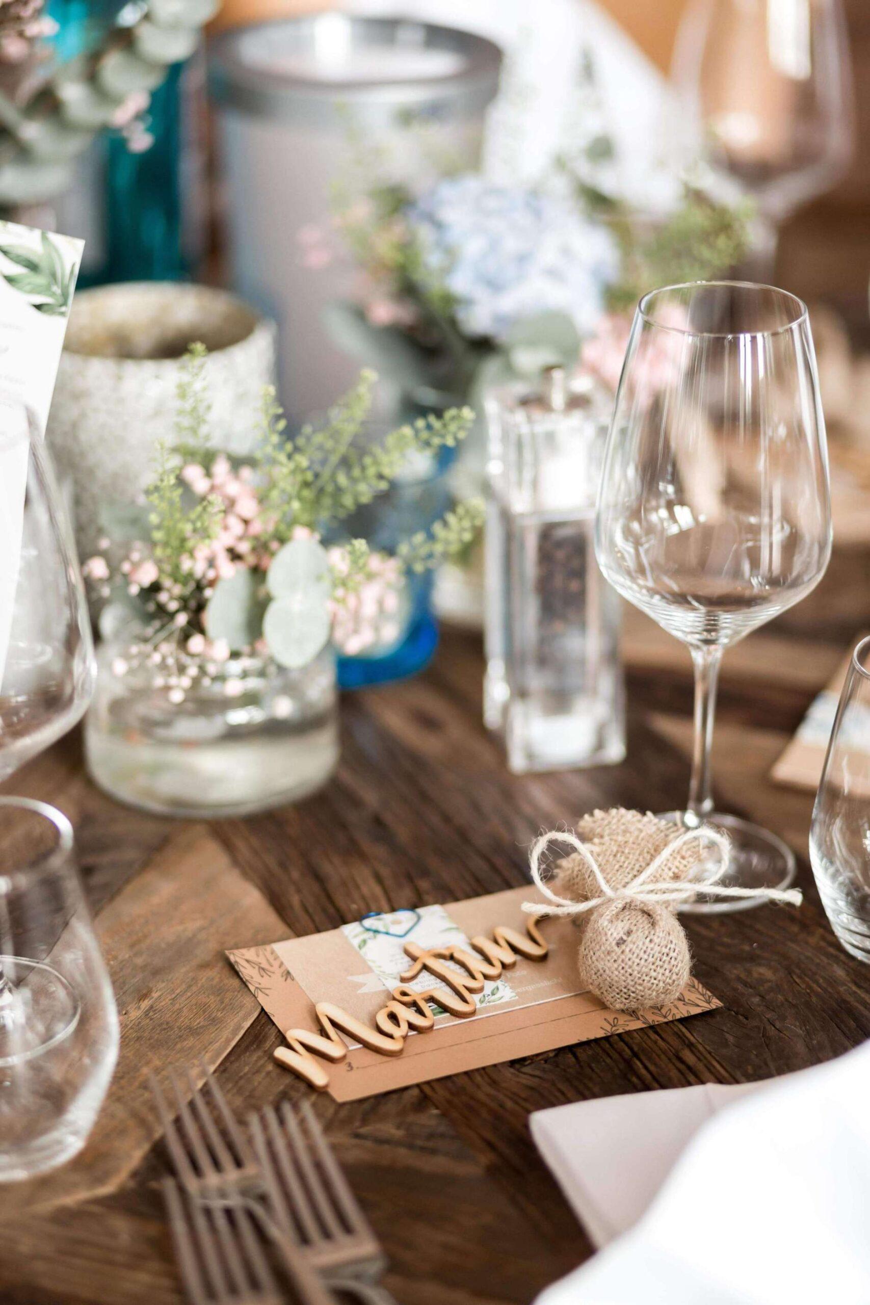 Tisch Dekoration Hochzeit